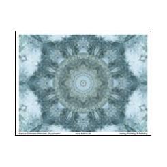 KATMA-Heilstein-Mandala ´Aquamarin`