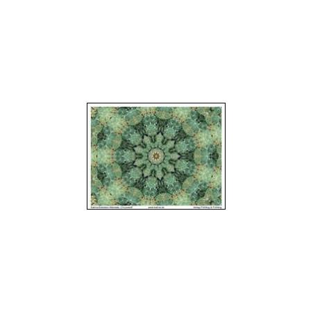 KATMA-Heilstein-Mandala ´Chrysokoll`
