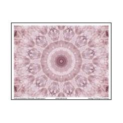 KATMA-Heilstein-Mandala ´Rosenquarz`