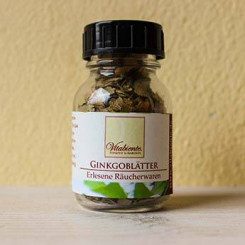 Ginkgoblätter, Erlesene Räucherwaren