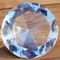 Feng Shui Wunsch-Diamant mit Kurzbeschreibung