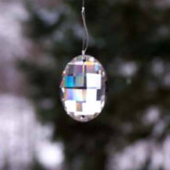 Swarovski Kristall-Medaillon