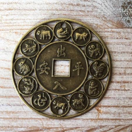 """Feng Shui Medaillon """"Tierkreiszeichen"""""""