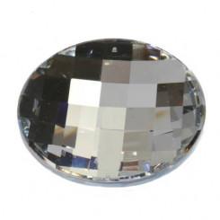 Swarovski Kristall-Halbkugel in Linsenform, Ø 30 mm